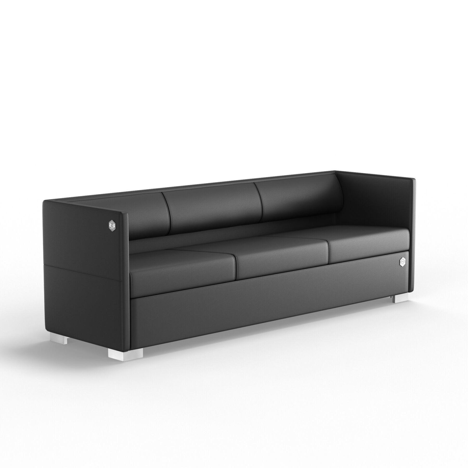 Трехместный диван KULIK SYSTEM LOUNGE Кожа 3