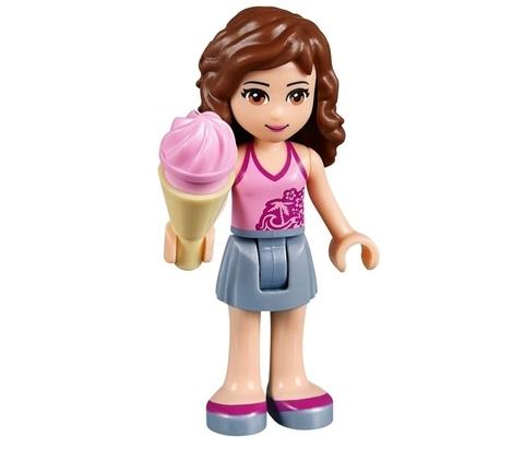 LEGO Friends: Оливия и велосипед с мороженым 41030 — Olivia's Ice Cream Bike — Лего Френдз Друзья Подружки