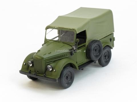 GAZ-69 with awning 1:43 Nash Avtoprom