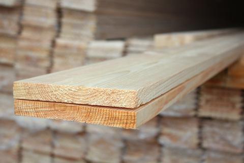 Доска обрезная 25х200х6000 мм, сорт 1, свежий лес, ГОСТ