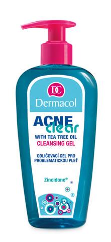Dermacol Acneclear Make-Up Removal & Cleansing Gel Гель для демакияжа и очищения проблемной кожи, 200мл