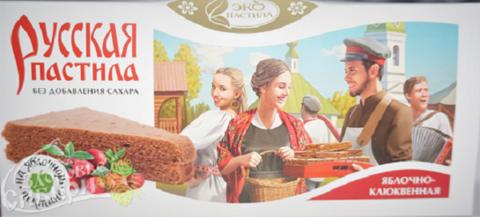 Картинка Пастила русская Яблочно-клюквенная