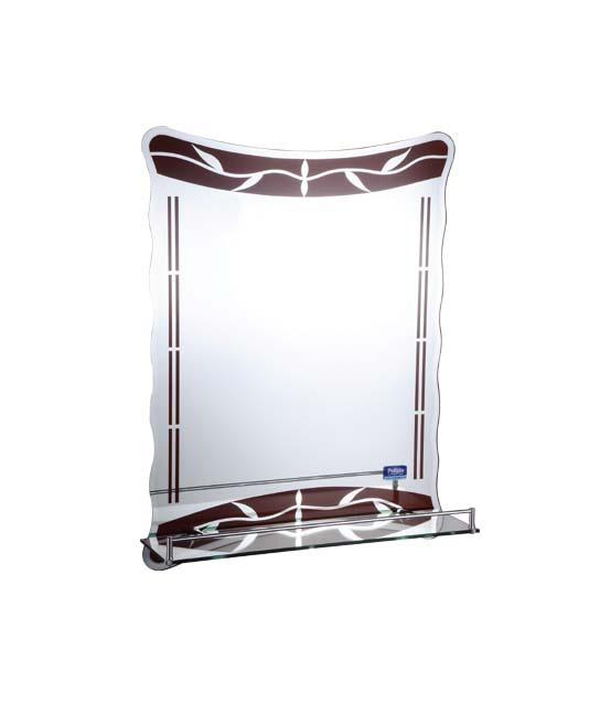 Зеркало 60*45 серебро Р713, Potato