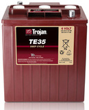 Тяговый аккумулятор Trojan TE35 ( 6V 245Ah / 6В 245Ач ) - фотография