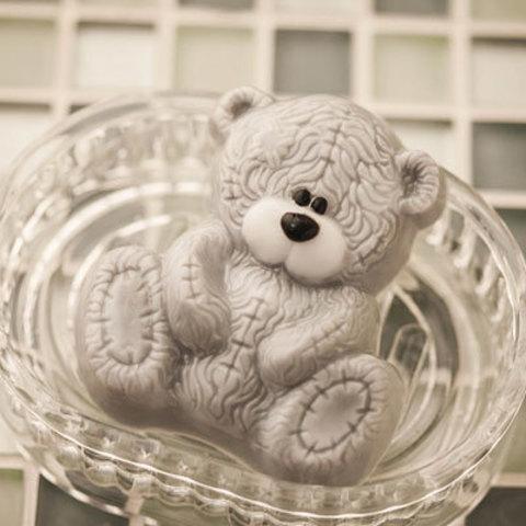 Пластиковая форма для мыловарения Мишка Тедди