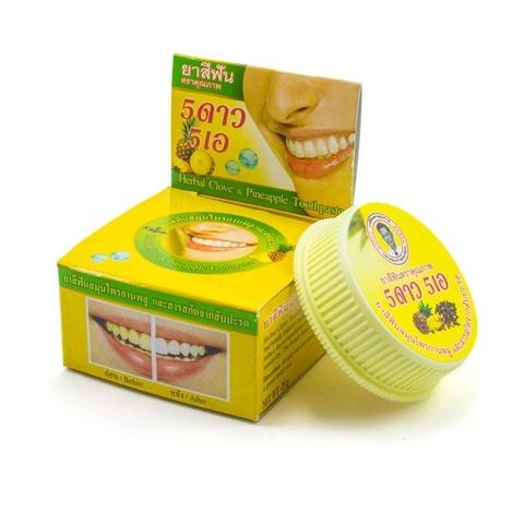 Зубная паста с ананасом