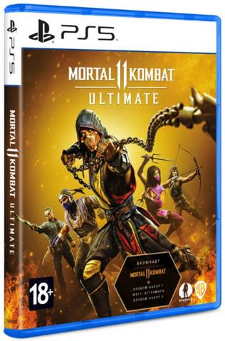 PS5 Mortal Kombat 11 Ultimate (русские субтитры)