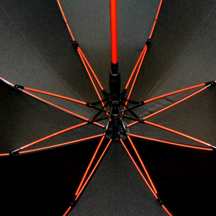 Зонт-трость Baldinini 4783-Fusto rosso
