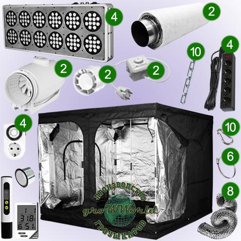 240х240х200 PROBOX  APOLLO 12х4 LED SUPERSILENT