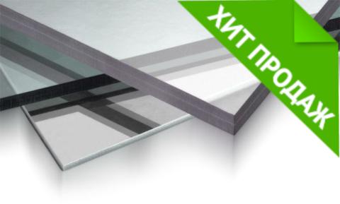 Монолитный поликарбонат Carboglass прозрачный 2,05х3,05 4 мм