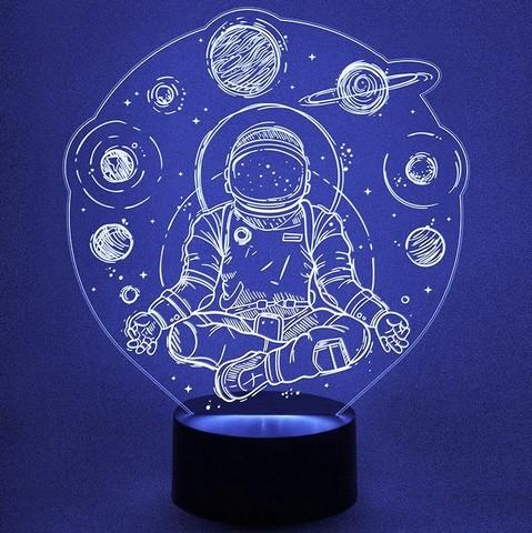 Светильник Космонавт