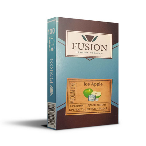 Табак Fusion Medium Ice Apple 100 г