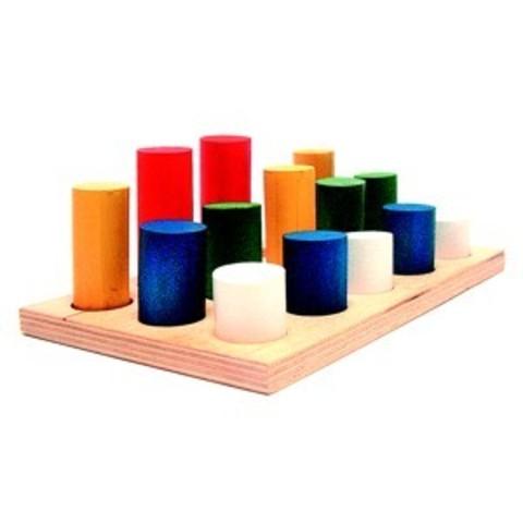 Цилиндры-втыкалки 3 ряда