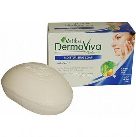 Мыло Dabur Vatika Naturals Dermoviva Moisturising Soap - увлажняющее 125гр