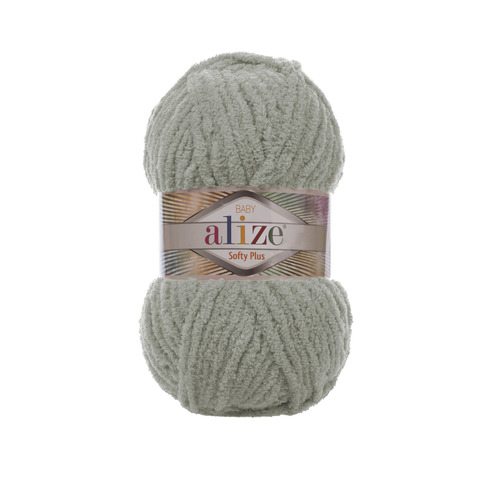 Купить Пряжа Alize Softy Plus Цвет 296 Серый | Интернет-магазин пряжи «Пряха»