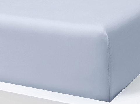 Простыня на резинке, материал сатин