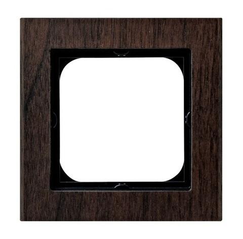 Рамка на 1 пост. Цвет Дерево. Ospel. Sonata. R-1RW/34