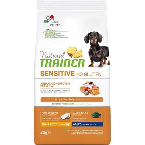 Natural Trainer Sensitive No Gluten Adult Mini Salmon для взрослых собак мелких пород