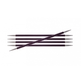 Спицы KnitPro Zing чулочные 6,0 мм/20 см 47043
