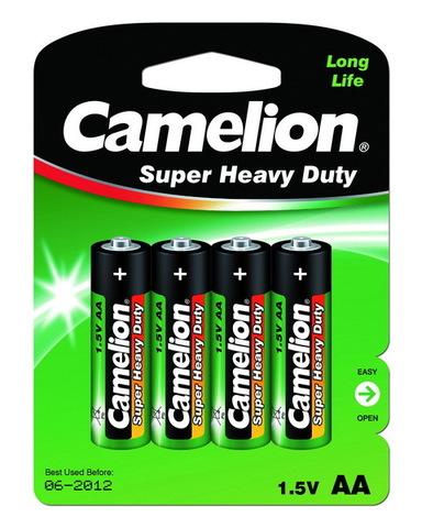 Батарейки Camelion Green R6, AA (4/48) BL