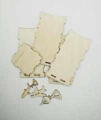 057-6534 Карандашница с парашютистами