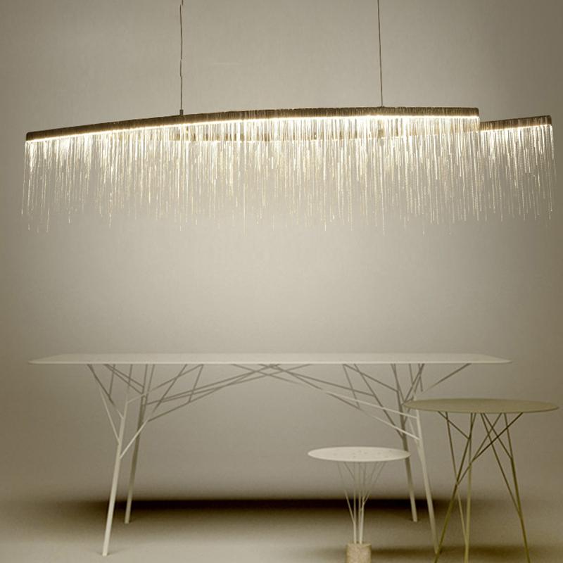 Подвесной светильник Waterfall by Light Room L120 (розовое золото)