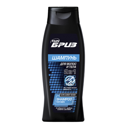 ТимБриз Шампунь 2 в 1 для волос и тела