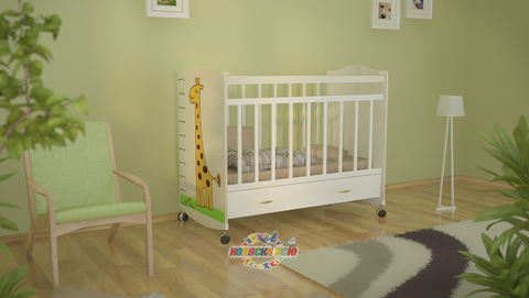 Детская кроватка «Морозко», «Садко», «Чудо» 1200х600