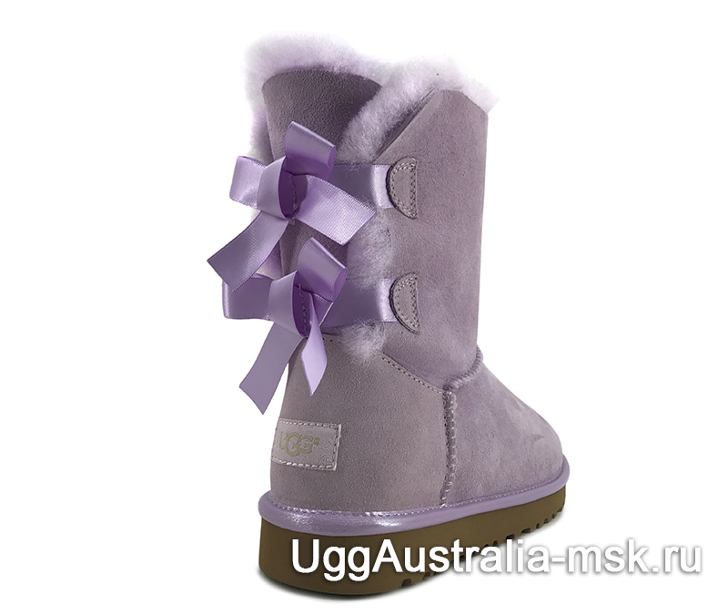 UGG Bailey Bow II Metallic Purple