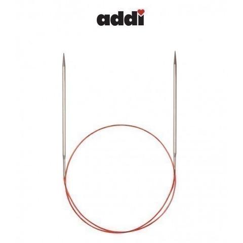 Спицы Addi круговые с удлиненным кончиком для тонкой пряжи 50 см, 3.5 мм