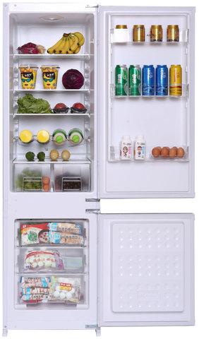 Встраиваемый двухкамерный холодильник Haier HRF229BIRU