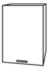 Чили ШВ 500 шкаф верхний