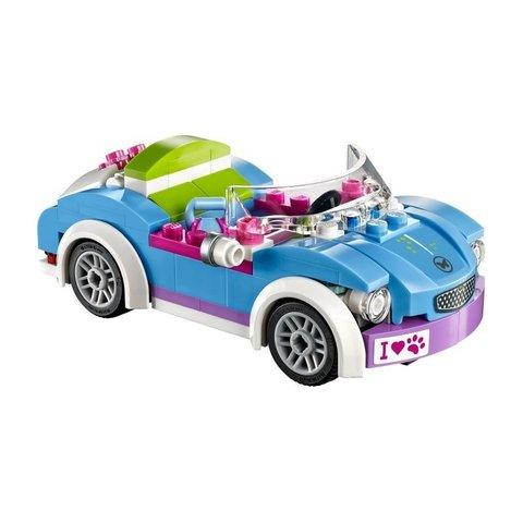 LEGO Friends: Кабриолет Мии 41091 — Mia's Roadster — Лего Френдз Друзья Подружки