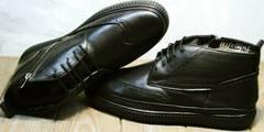 Ботинки зимние мужские натуральная кожа Rifellini Rovigo C8208 Black