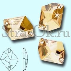 Стразы пришивные Cosmic Golden Shadow для купальника по художественной гимнастике