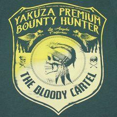 Футболка зеленая Yakuza Premium 2707
