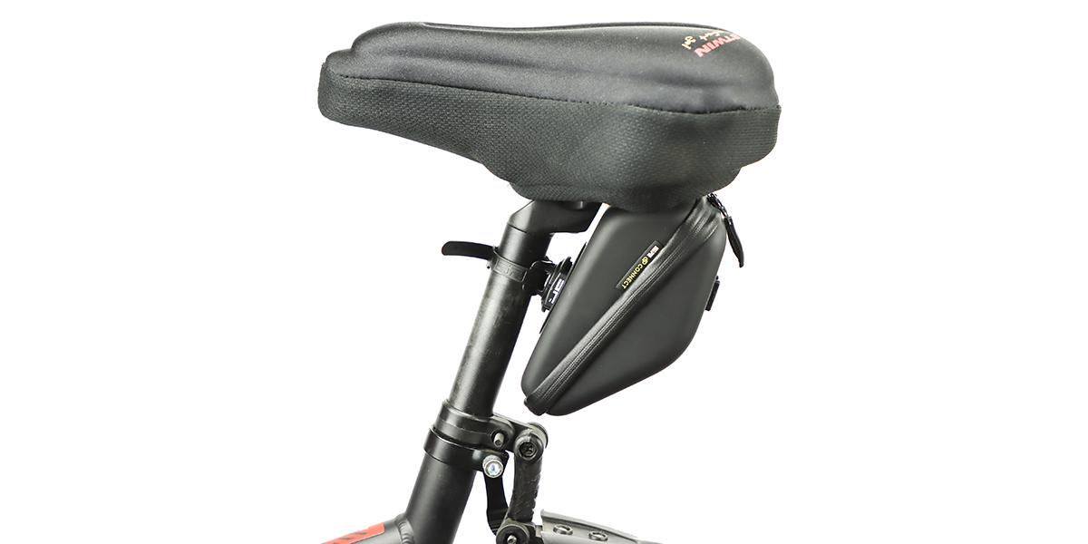 Кейс для велосипеда SP Connect Diamond Case Set под седлом вид сбоку
