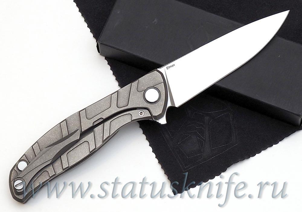 Нож Широгоров Flipper 95 ELMAX FS узор T подшипники - фотография