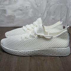 Женские туфли кроссовки лето Small Swan NB283-2 All White.