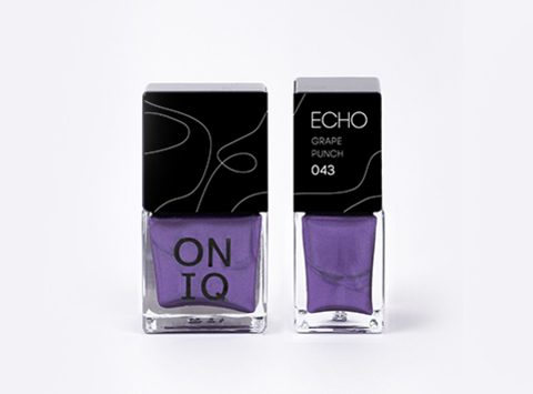 ONP-043 Лак для стемпинга.  Echo: Grape Punch
