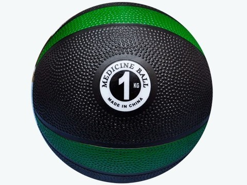 Мяч для атлетических упражнений (медбол). Вес 1 кг: MBD2-1 kg