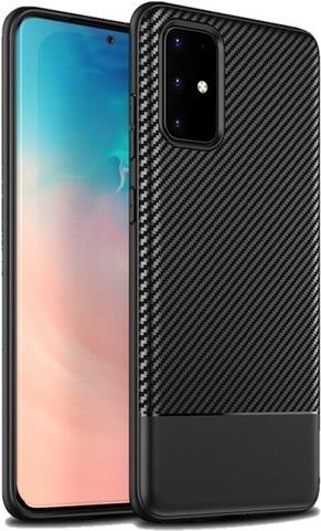 Ультра тонкий чехол под карбон на Samsung Galaxy S20 Плюс, серии Fit от Caseport