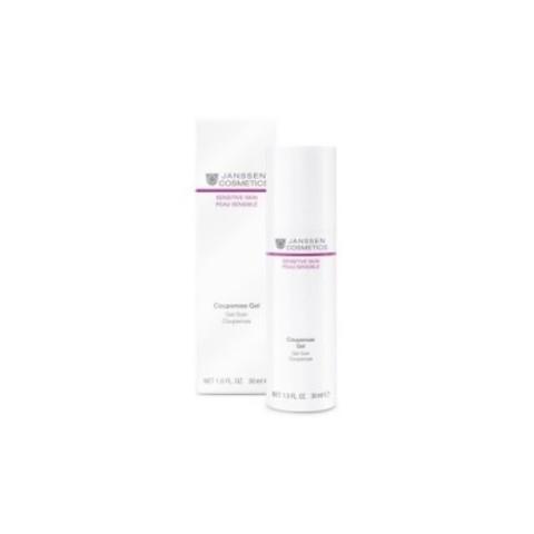 Janssen Sensetive Skin: Антикуперозный гель-концентрат для чувствительной кожи лица (Couperose Gel), 30мл