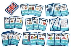 IQ Card games. English. Irregular verbs. Easy Level (100 карт)