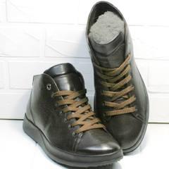 Повседневные кроссовки ботинки коричневого цвета Ikoc 1770-5 B-Brown.