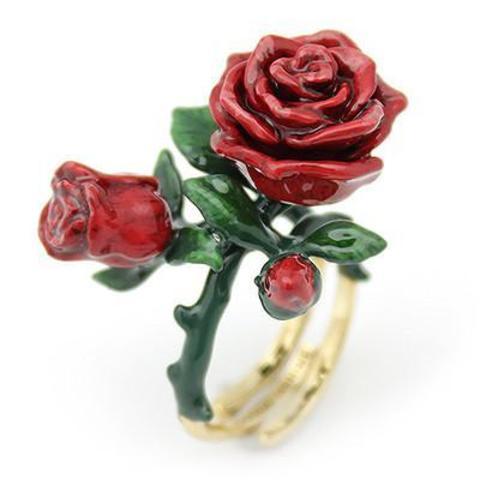 Кольцо Роза