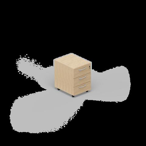 Мобильная тумба (3 ящика)