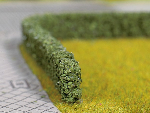 Модельные изгороди (т.зел) - 2шт, (10х6 мм)
