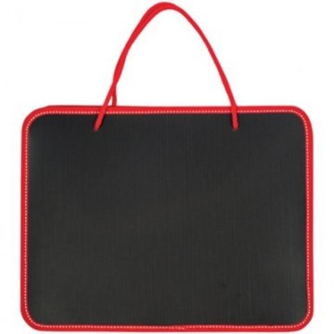 Папка портфель на молнии черный с ручками