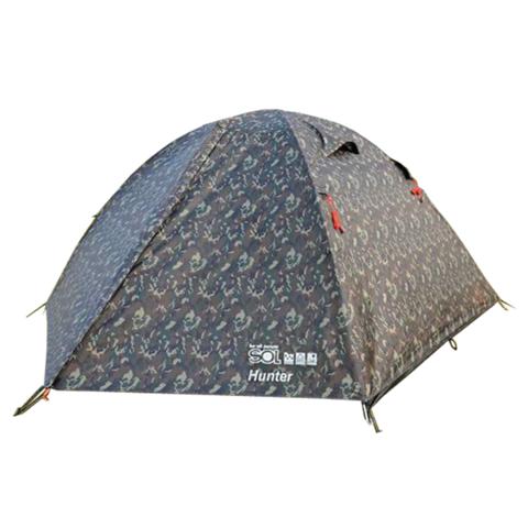 Туристическая палатка Tramp Lite Hunter 3 (камуфляж)